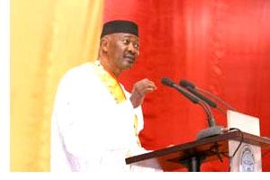 Discours du président Touré à la cérémonie d'investiture