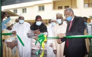 Mme Diéminatou Sangaré a inauguré l'infrastructure qui a coûté 840 millions de Fcfa