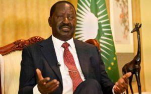 L'ancien Premier ministre et principal opposant kényan Raila Odinga durant un entretien à l'AFP dans son bureau à Nairobi, le 2 septembre 2021. afp.com - Simon MAINA