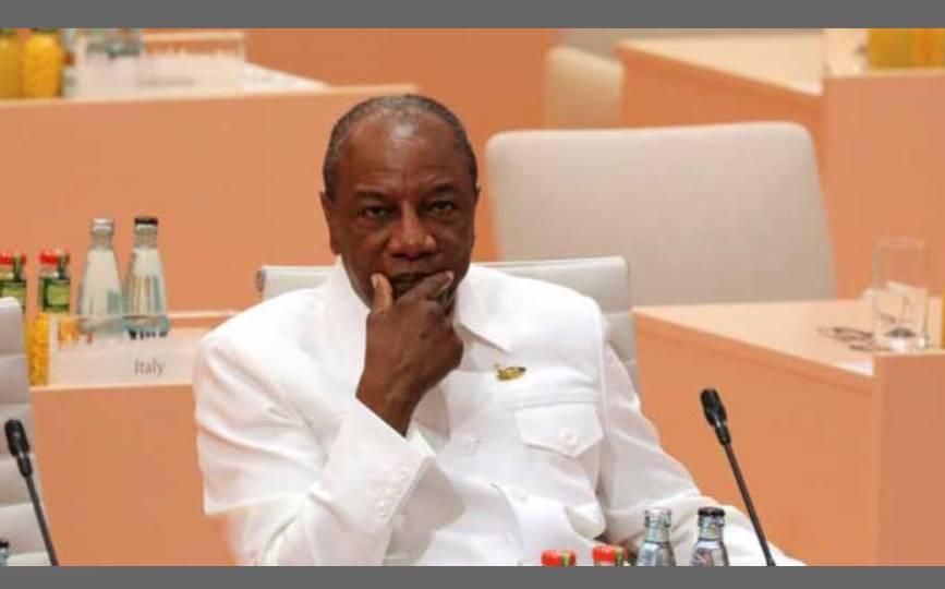Le président guinéen, Alpha Condé, en juillet 2017. © Reuters / Ludovic Marin