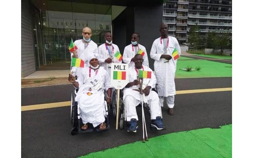 L'équipe nationale paraolympique du Mali