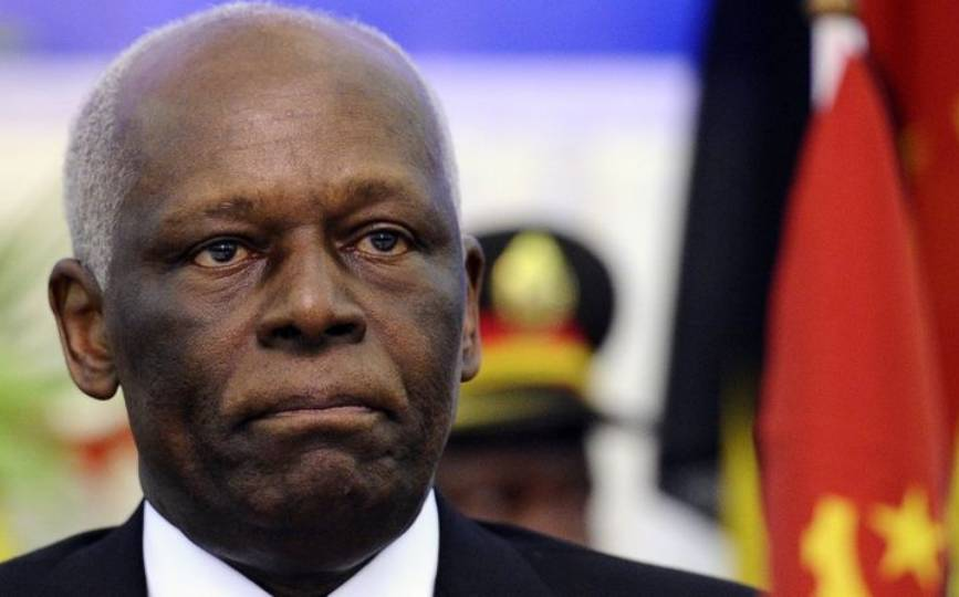 L'ancien président angolais José Eduardo dos Santos à Luanda, en août 2011. STEPHANE DE SAKUTIN / AFP