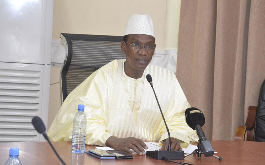 Le Premier ministre, Dr Choguel Kokalla Maïga