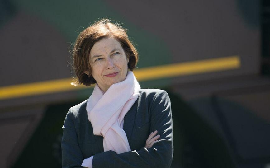 La ministre de la Défense française, Florence Parly, à Vannes en mai 2020. AFP/Archivos