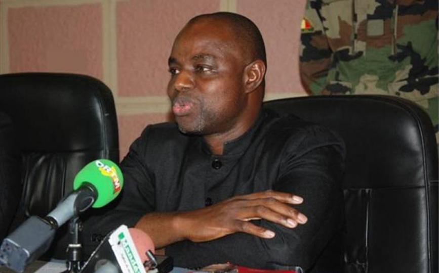 Le ministre de la justice, Garde des Sceaux, Mamoudou Kassogué