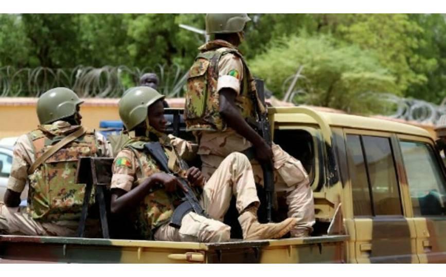Des soldats des forces armées maliennes (Fama), à Gao, le 24 juillet 2019 (phoro d'illustration). AFP/Souleymane Ag Anara