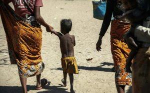 Dans le village de Befeno, dans le sud de Madagascar, le 2 septembre 2021 afp.com - RIJASOLO