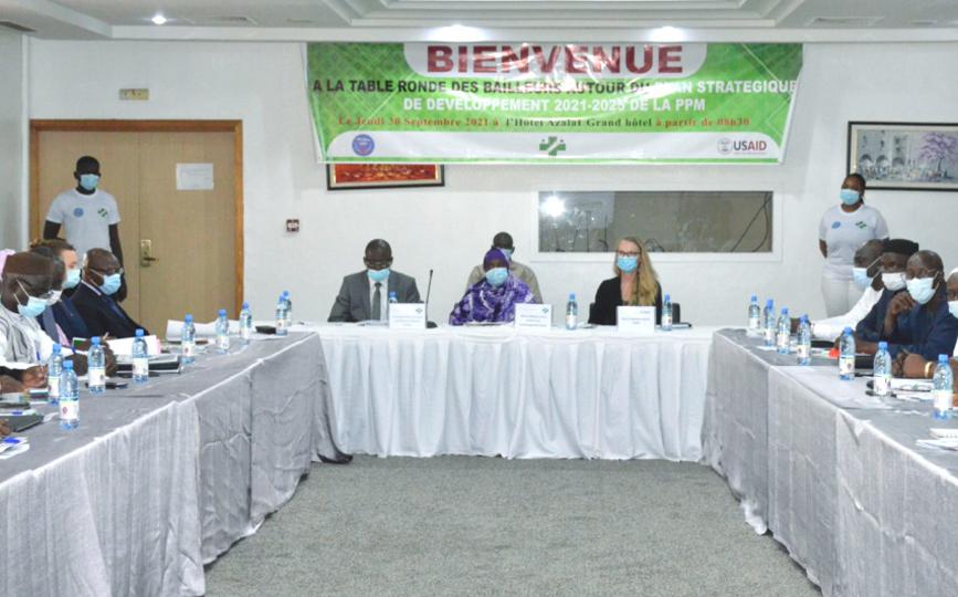 La ministre Sangaré a remercié les responsables de la PPM pour leur esprit d'initiative