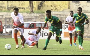 Les Rouges et Blancs de Binga FC se sont qualifiés pour les barrages, en éliminant ASFA Yennenga du Burkina Faso