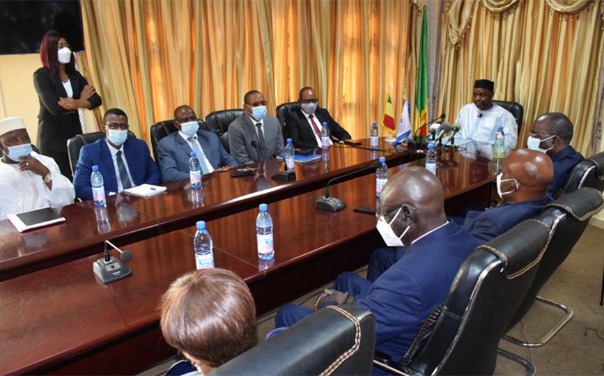 Les travaux étaient présidés par le ministre en charge de la Justice