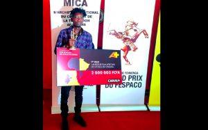 Notre compatriote Banou Sagou, lauréat du prix du meilleur film africain des écoles de cinéma