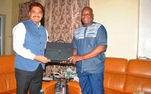 Le diplomate a été reçu par le directeur général de l'AMAP, Bréhima Touré