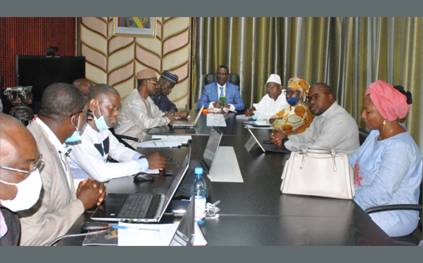 La présentation du projet a eu lieu en présence du ministre Harouna Mamadou Toureh