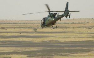 Hélicoptère Gazelle de l'opération Barkhane au Mali (image d'illustration). © RFI / Olivier Fourt