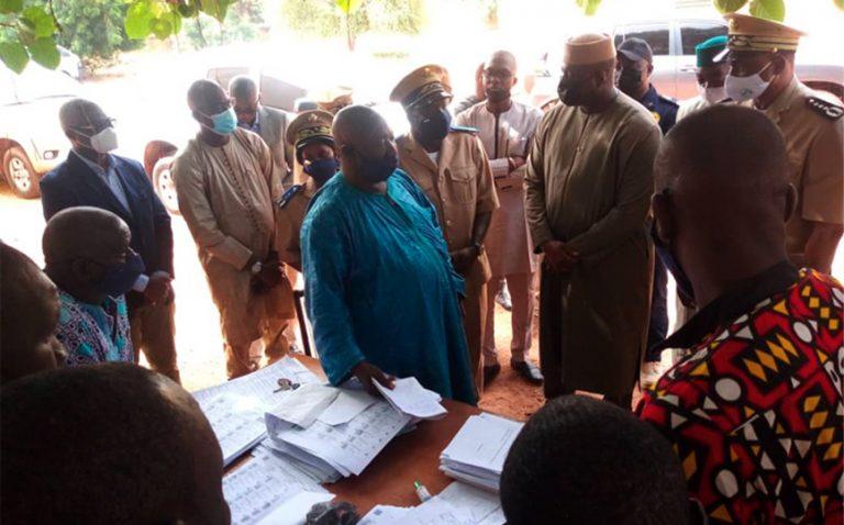 La délégation a fait le point sur le déroulement de la révision de la liste électorale